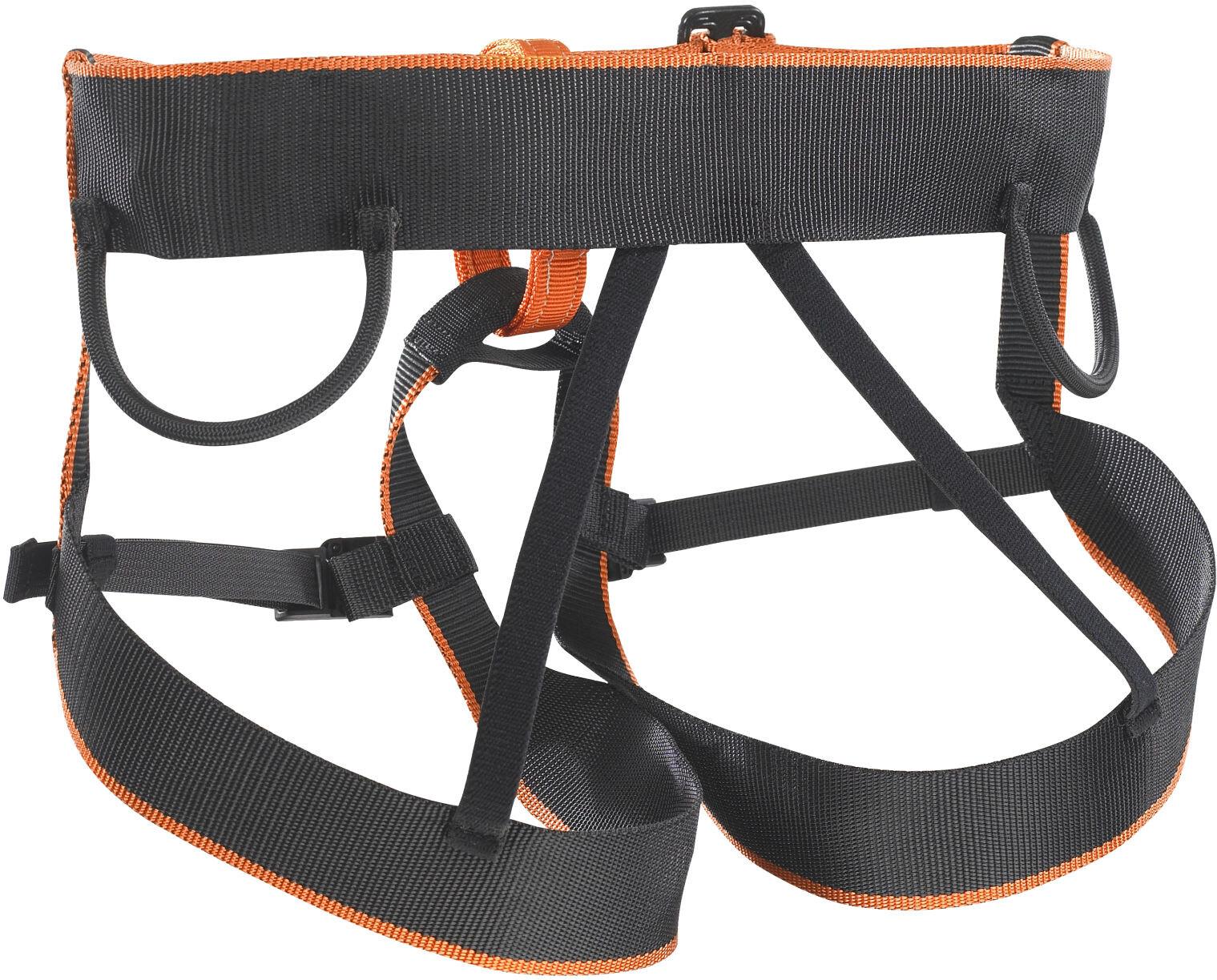 Klettergurt Kinder Skylotec : Skylotec pyrit harness kids black orange campz